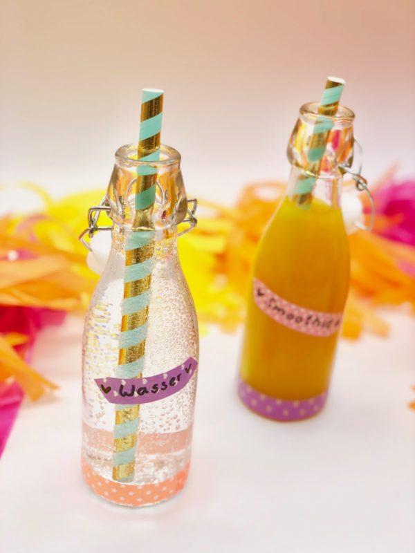 Gesunde Picknick Ideen Drinks zum Mitnehmen selber machen mit Dr. Karg´s