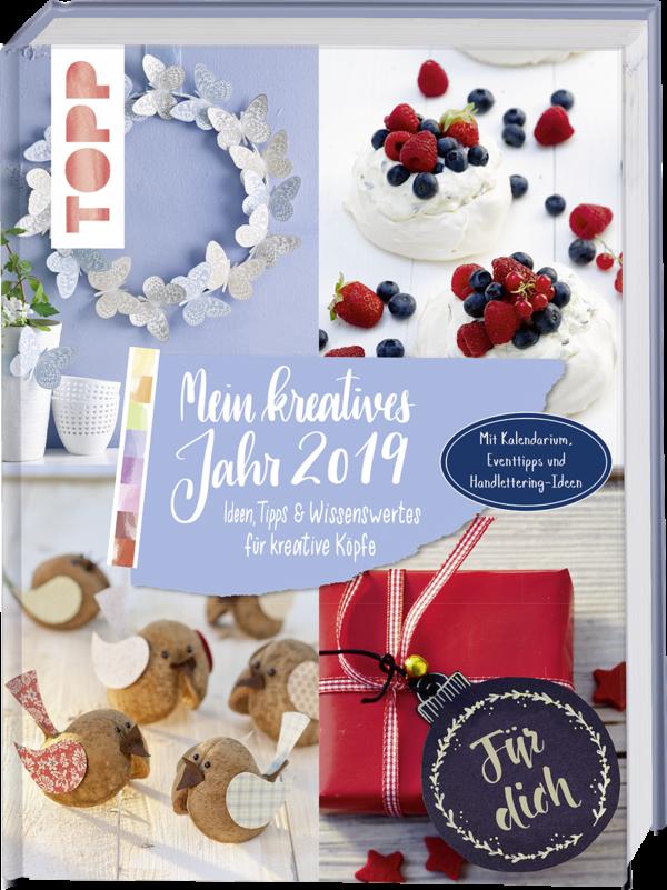 Buch Mein kreatives Jahr 2019 vom frech Verlag