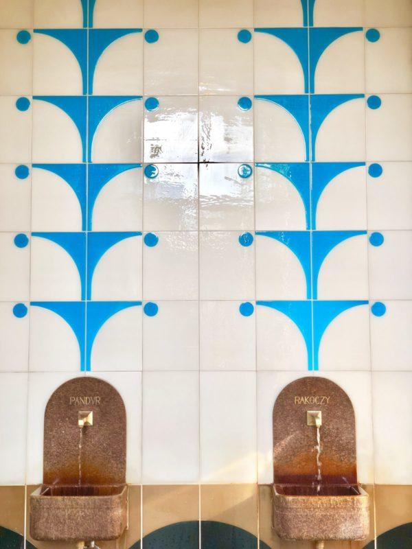 Das Heilwasser ist für Gäste und Einheimische kostenlos