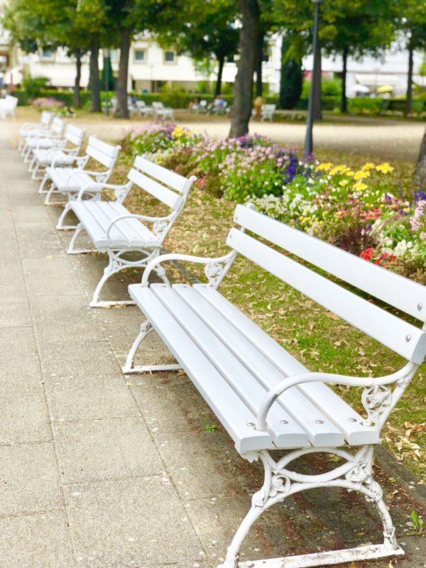 Entspannen und wohlfühlen: im Kurpark in Bad Kissingen