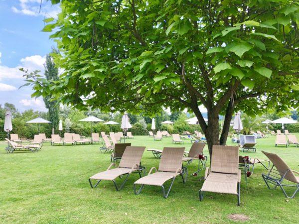 Grüne Oase: die KisSalis Therme in Bad Kissingen