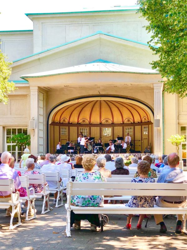 Das Kurorchester hat eine Bilanz von 727 Auftritten im Jahr