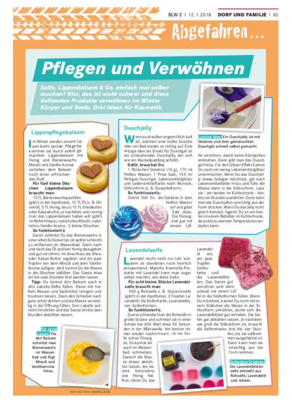 Screenshot - erschienen im Bayerischen Landwirtschaftlichen Wochenblatt, www.wochenblatt-dlv.de