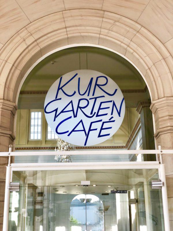 Verbindet Moderne und Tradition - Kurgarten Café in Bad Kissingen