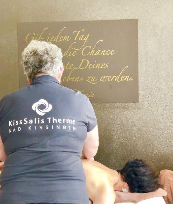 Verwöhnen lassen und genießen: in der Kissalis Therme Bad Kissingen