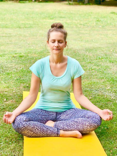 Yoga im Park - jeden Dienstag Entspannung und Bewegung