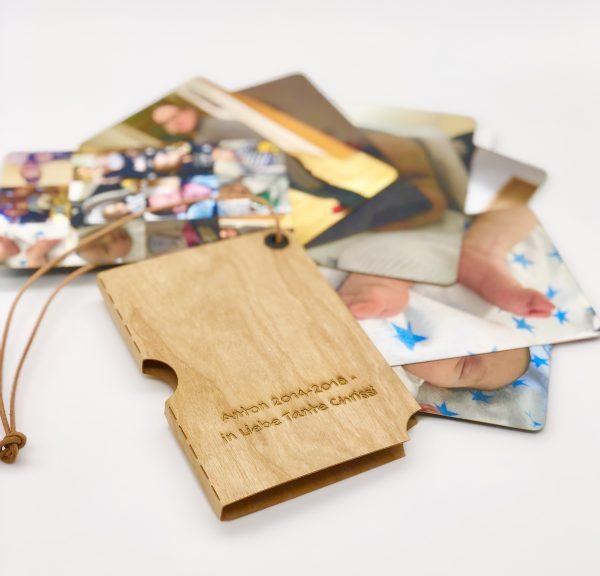 fingerbook selber machen - mit persönlicher Gravur
