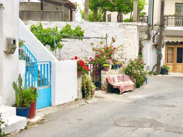 Liebevolle Idylle: in Krasi auf Kreta