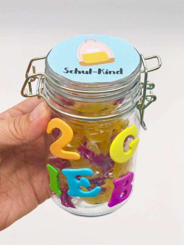 Lustige Geschenkideen - Süßigkeiten zur Einschulung verschenken