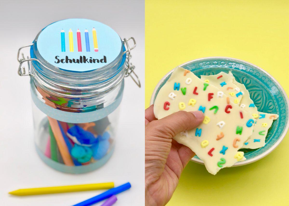 originelle Geschenke zur Einschulung - coole Ideen zum Selbermachen