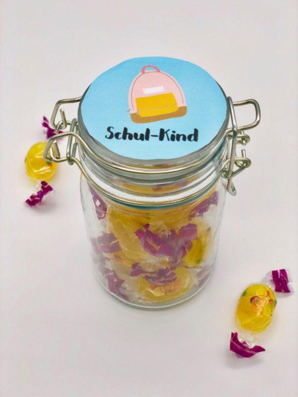 Süßigkeiten zur Einschulung verschenken - coole Ideen