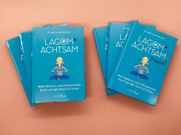 Achtsamkeit lernen mit dem Buch-Set Lagom Era von Anne und Olof Brolien
