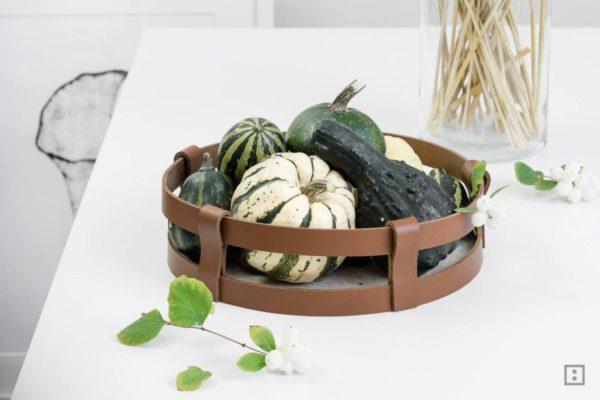 DIY Deko Schale für den Herbst selber machen