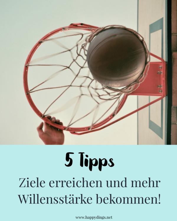Ziele erreichen - Tipps und Übungen