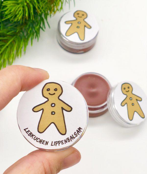 DIY Lebkuchen Lippenbalsam als Weihnachtsgeschenkidee