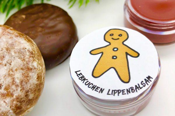 Kleine Weihnachtsgeschenkideen: Lebkuchen Lippenbalsam