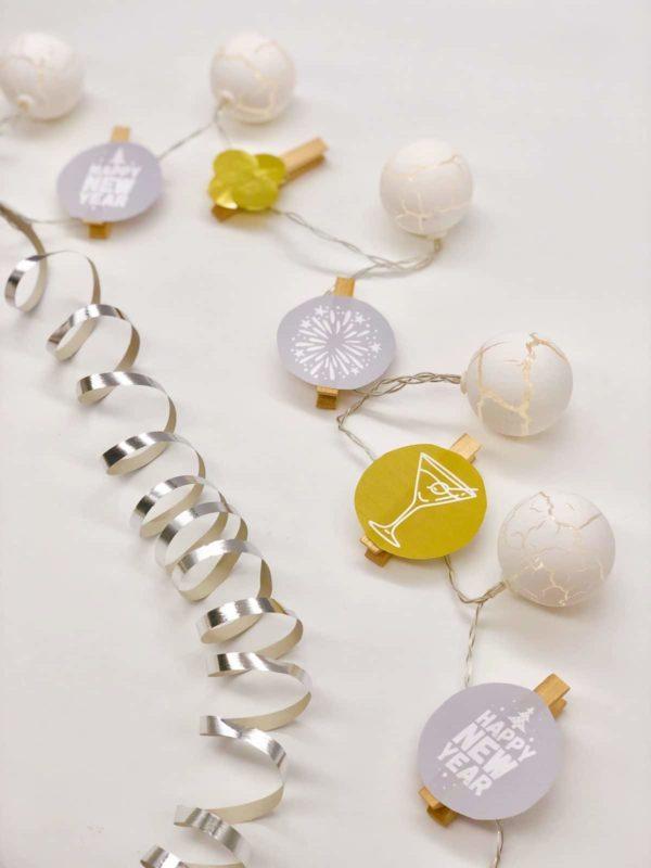 Lichterkette basteln für Silvester mit VARTA