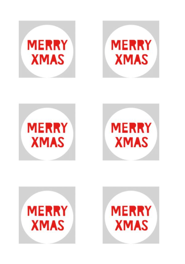 Lichterkette basteln für Weihnachten mit VARTA Vorlage Merry X Mas