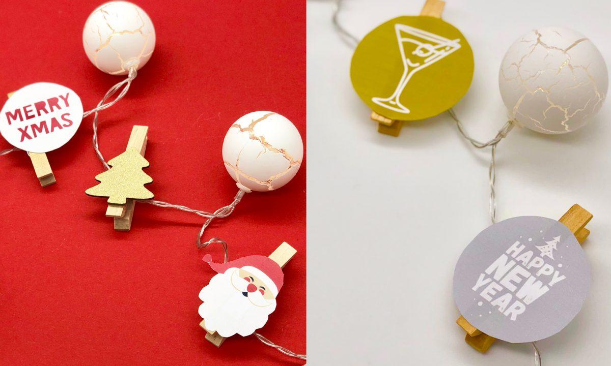 Vorlagen Weihnachtsbasteln.Lichterkette Basteln Für Weihnachten Und Silvester Mit Varta