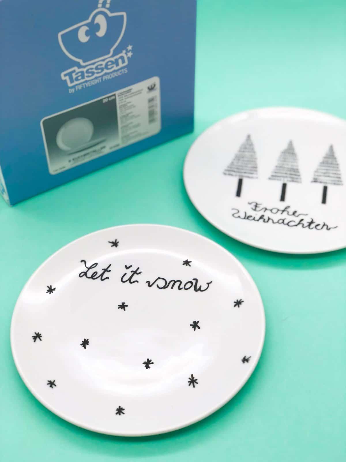 Weihnachtsgeschenke Selber Machen Porzellan Bemalen