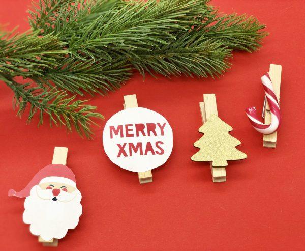 Weihnachtliche Deko und Geschenkanhänger mit VARTA