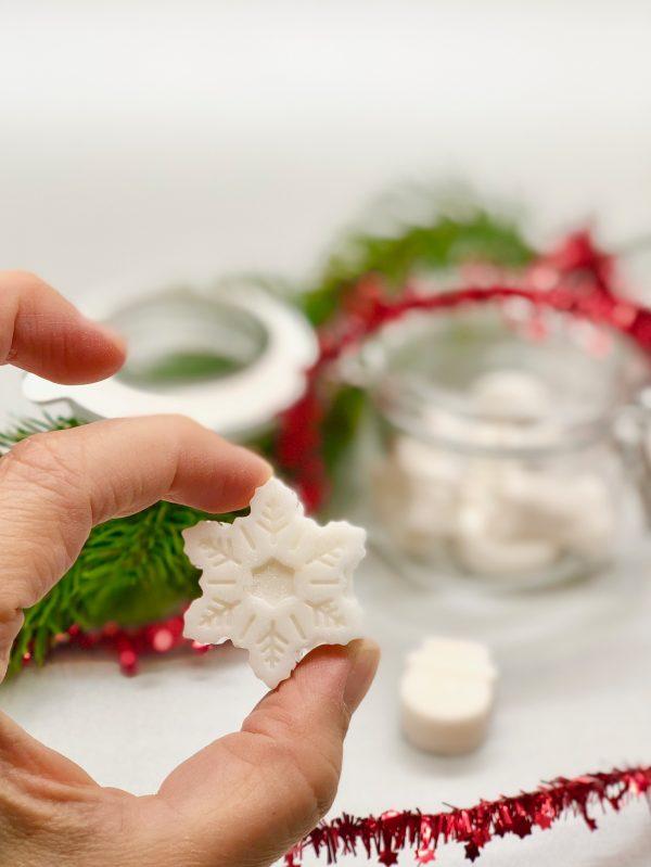 Stern Seife selber machen - einfaches DIY Geschenk