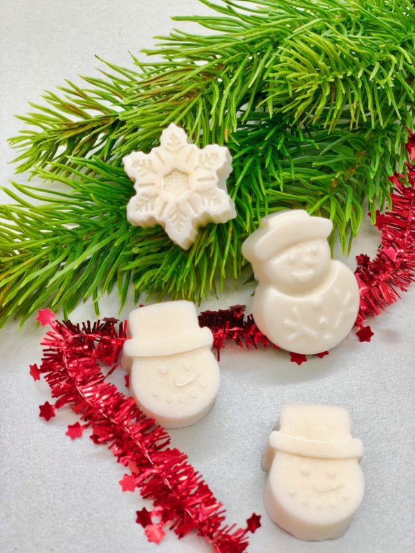 Weihnachtliche Seife selber machen - süße Idee für ein DIY Geschenk