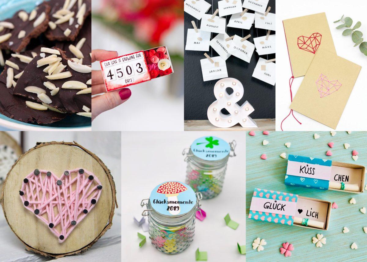 Süße Geschenkideen für Männer zum Beispiel für den Valentinstag
