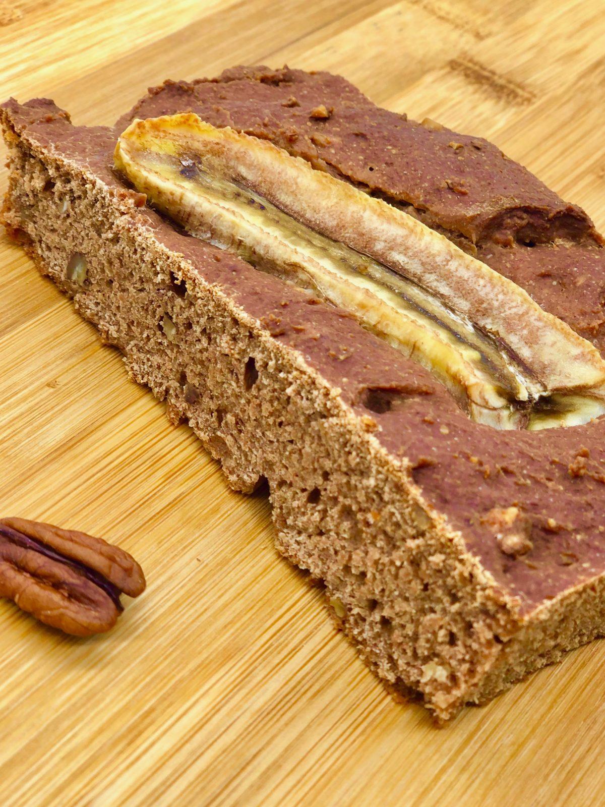 Bananenbrot als Snack zwischendurch - ohne Zucker
