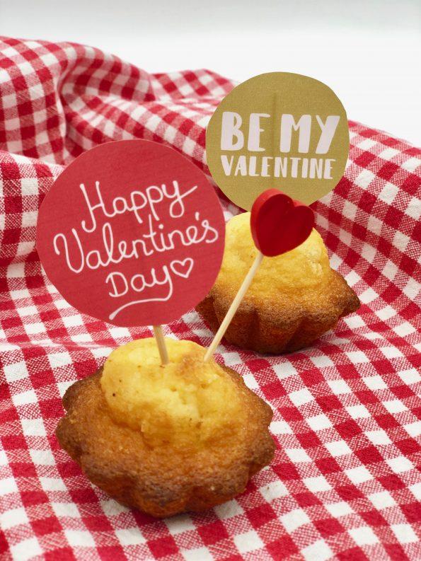 DIY Geschenke zum Valentinstag: Kuchen Popper selber machen