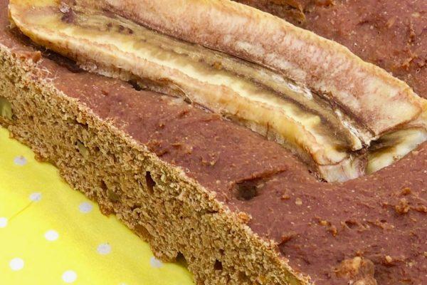 Lecker und gesund - veganes Bananenbrot