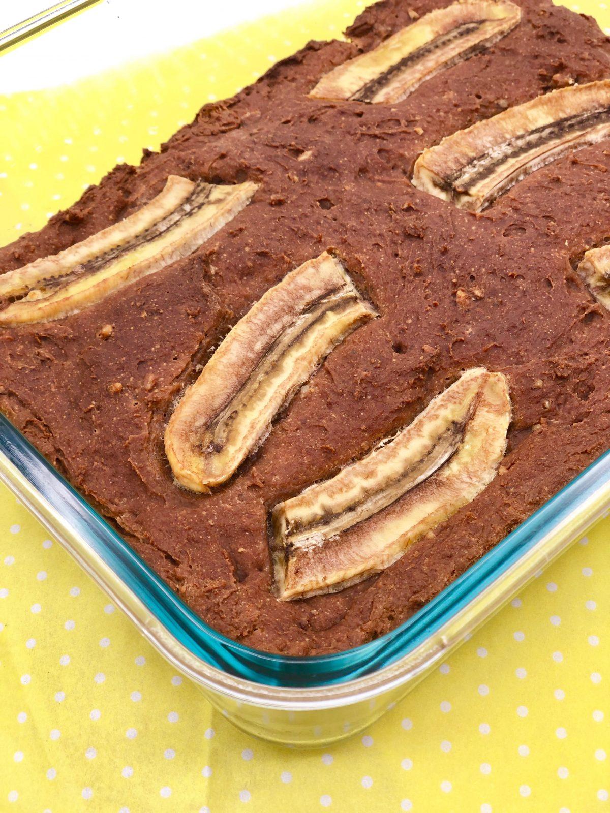 Schnelles Bananenbrot Rezept vegan und ohne Zucker