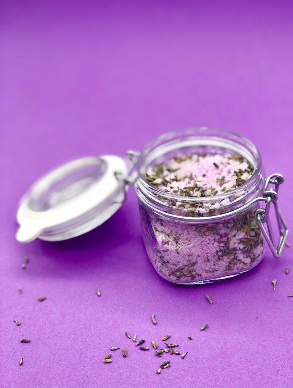 Vanille Lavendel Badesalz selber machen