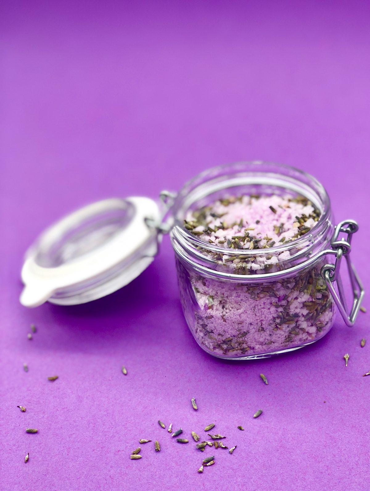 Häufig Lavendel Badesalz selber machen - Rezept und Anleitung mit Video QP24