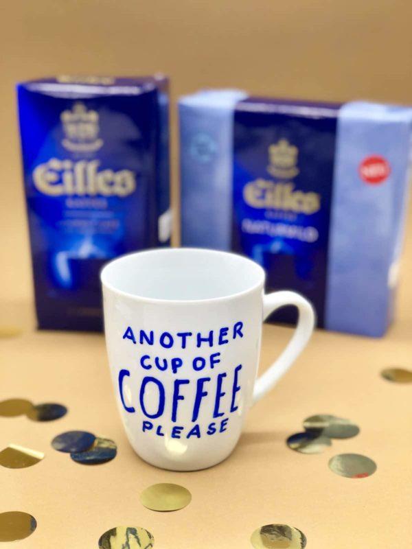 Porzellan bemalen mit Hilles Kaffee - Tipps & Tricks