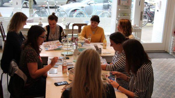DIY Fans treffen sich zum Workshop mit Eilles Kaffee