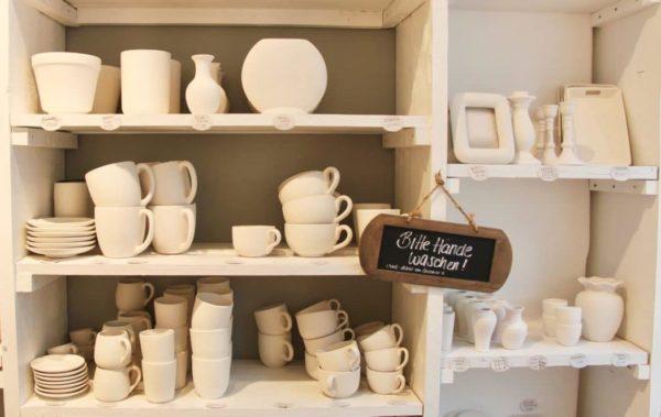 Porzellan bemalen - DIY Workshop mit Eilles Kaffee und Porzellanfräulein