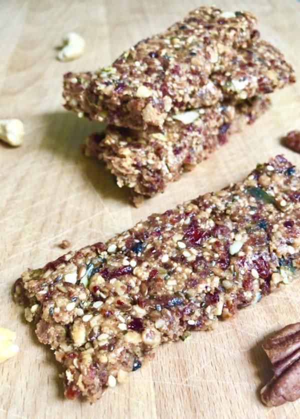 Gesunde Müsliriegel ohne Zucker - Snacks mit Jütro To Go