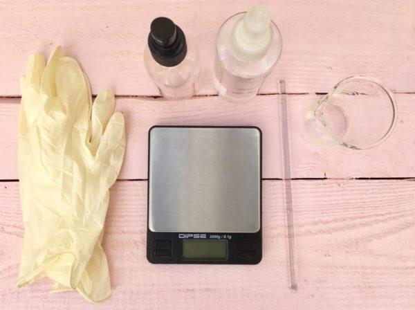 DIY Kosmetik selber machen - das Equipment