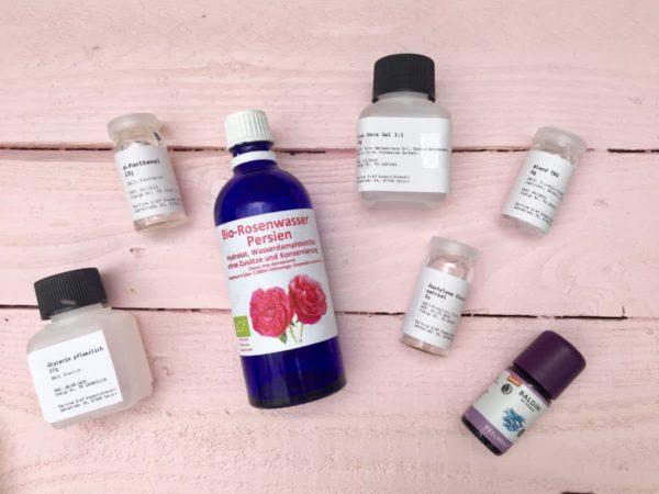 DIY Kosmetik selber machen - die Zutaten