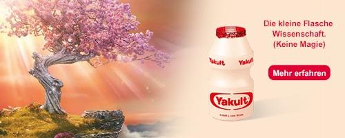 Starte in einen guten Tag mit Yakult