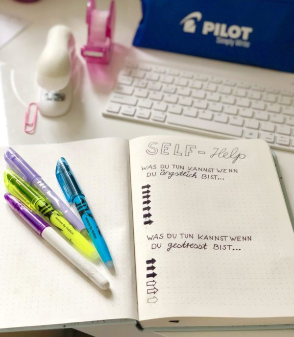 Kreative Bullet Journal Ideen mit PILOT