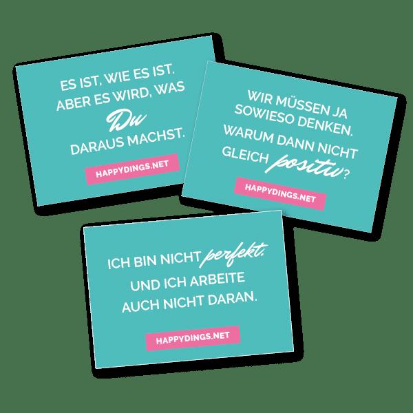 Postkarten Glücks Kurs