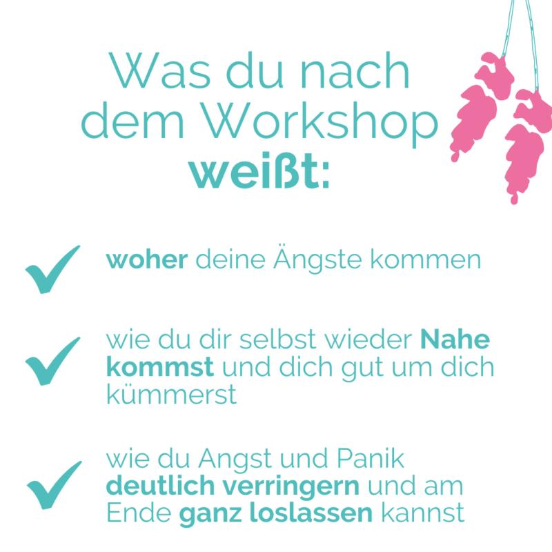 Angst Workshop - was du danach weißt