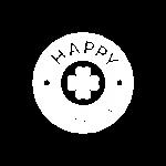 Logo Happy Dings Christina Hillesheim Weiss